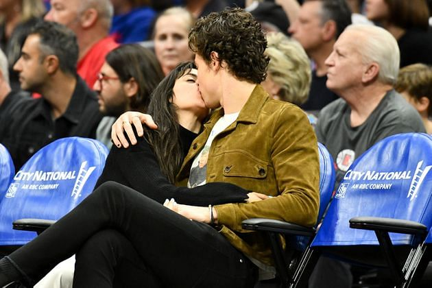 Guys, get a room: Shawn Mendes- Camilla Cabello kissing is making us lovesick, literally!
