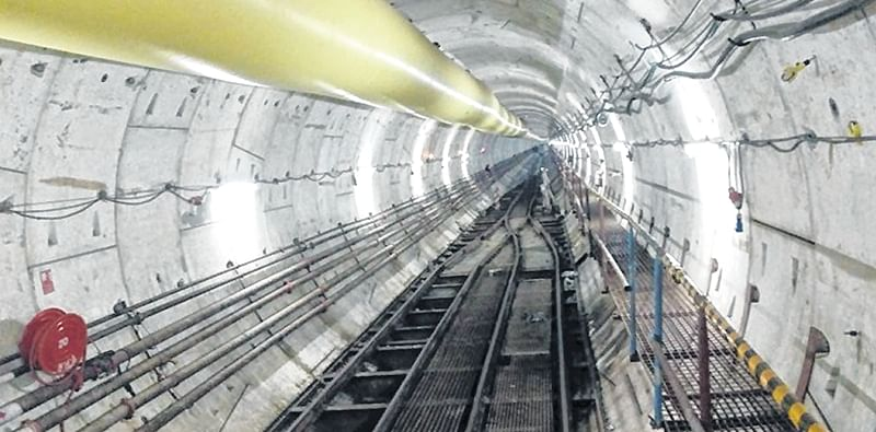 Mumbai: Metro 3 finishes upline tunnel in Mithi River