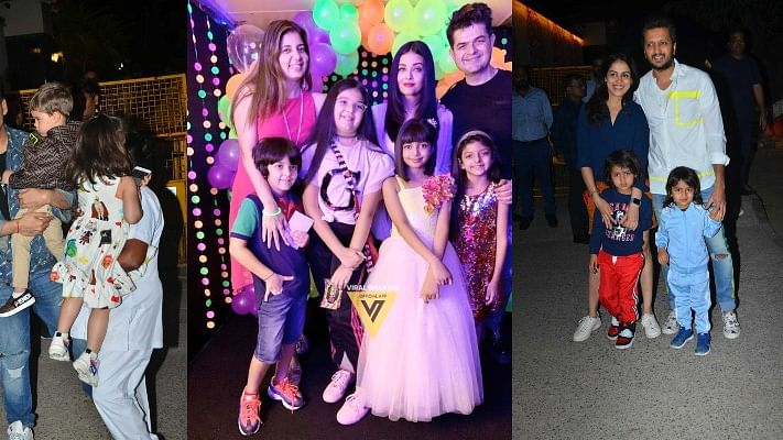 Aaradhya Bachchan Birthday Bash: SRK, Karan, Riteish Deshmukh and their kiddy party made this an all-star affair