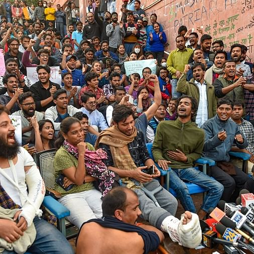 'BJP should not try to suppress democratic protests': Shiv Sena supports JNU protest