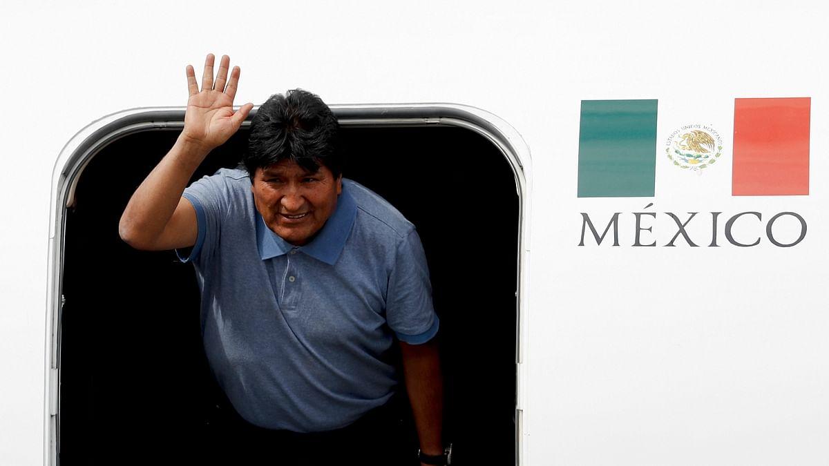 Mexico grants asylum to Bolivia's Evo Morales
