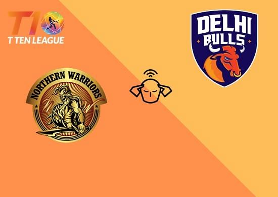 Abu Dhabi T10 League: Delhi Bulls vs Northern Warriors: Live streaming and where to watch on TV in India