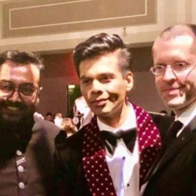 Karan Johar meets 'GoT' directors David Benioff, DB Weiss at International Emmys 2019