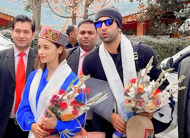 Brahmastra: Locals greet Ranbir Kapoor and Alia Bhatt with 'Kullu Cap' in Manali