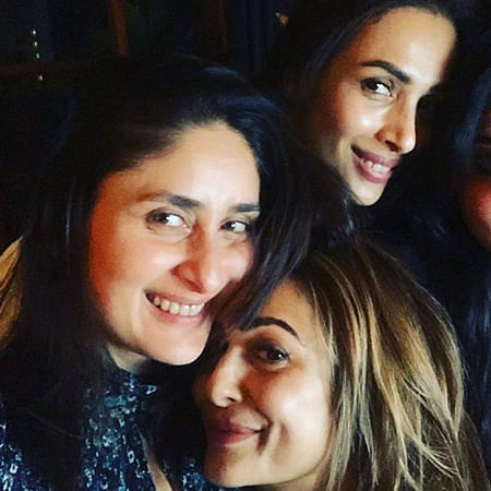 The 'OG' girl gang Kareena, Malaika, Amrita reunite for a cosy night in