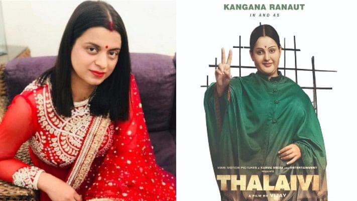 Rangoli slams 'samosa gang' for criticizing Kangana's look in 'Thalaivi'