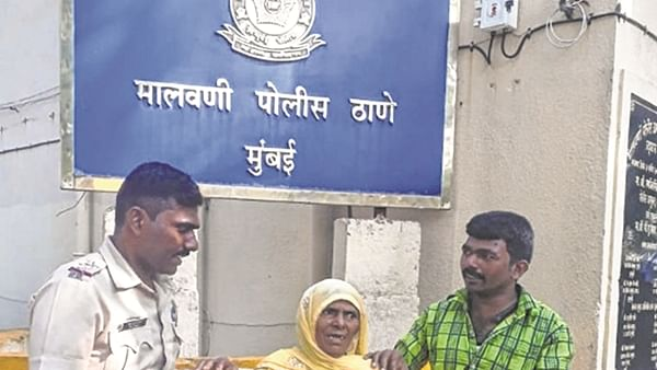 Two days on, senior citizen is reunited with kin in Malvani