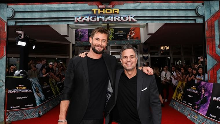 Chris Hemsworth and I improvised the entire script of 'Thor: Ragnarok': Mark Ruffalo
