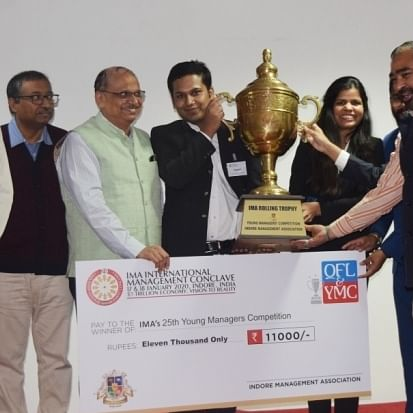 Indore: Cummins Turbo stands winner of Young Managers competition