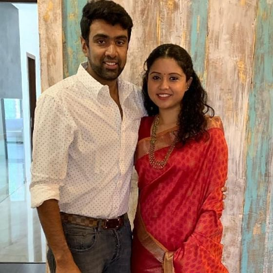 R Ashwin's wife Prithi mankads him for this annoying habit