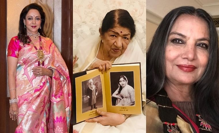 Shabana Azmi, Hema Malini, and other celebs wish Lata Mangeshkar a speedy recovery