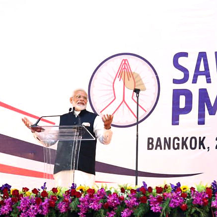 No single government can be credited for deep ties between India and Thailand: PM Modi