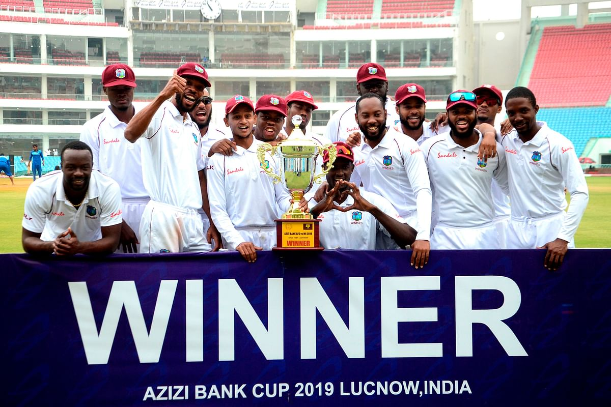 Comprehensive win as Windies beat Afghanistan by 9 wickets