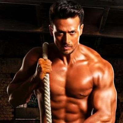 After Disha Patani, Tiger Shroff flaunts his Calvins in a bare body workout pic