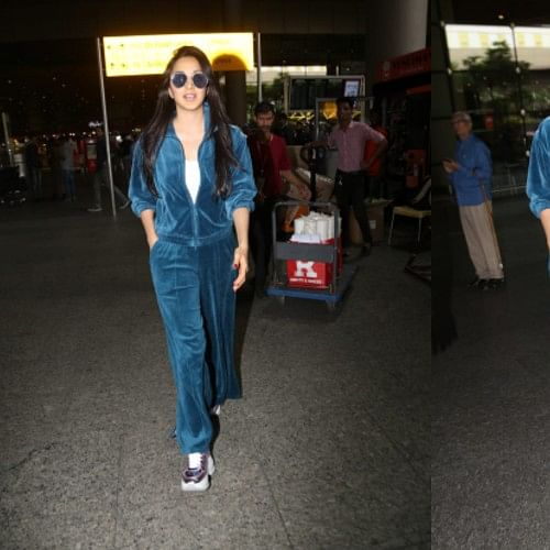 Kiara Advani's dapper airport look will make your heart skip a beat