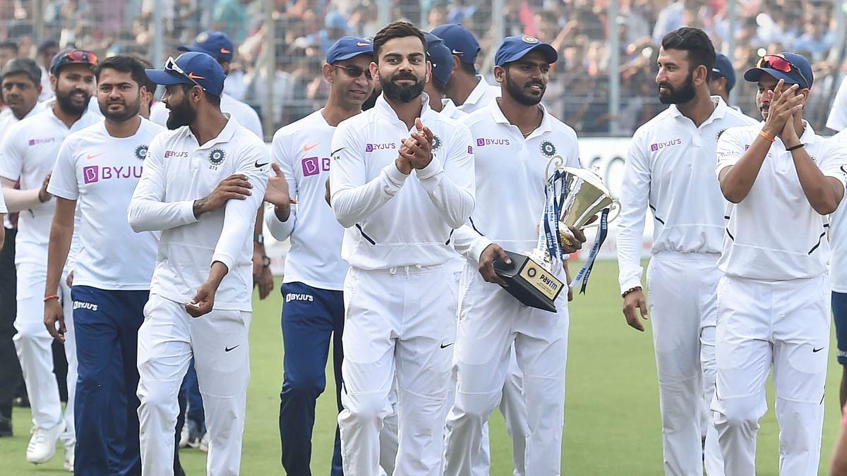 India won by an innings and 46 runs against Bangladesh