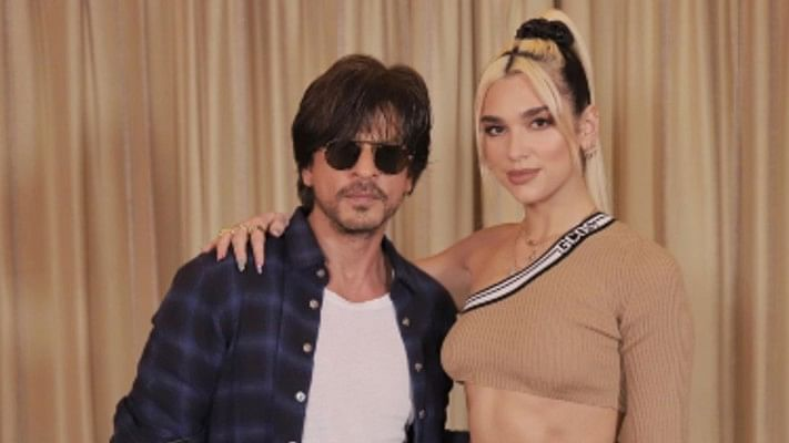 SRK has a very SRK request for Dua Lipa as he promises to live by 'New Rules'