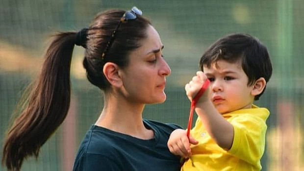 Kareena Kapoor Khan with son Taimur Ali Khan