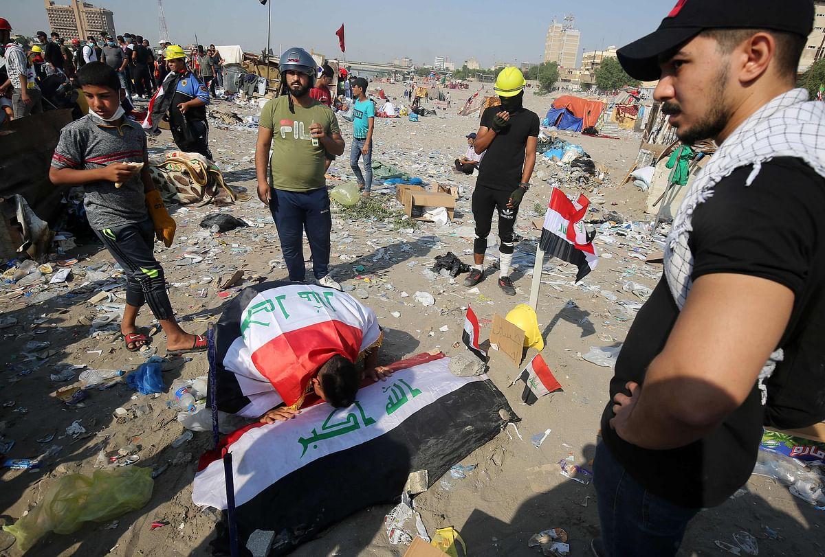 Iraq: Clashes in Karbala kill 2 protesters