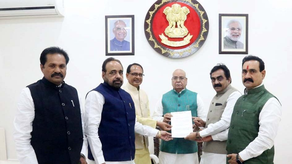 Bhopal: BJP leaders again approach Guv for Lodhi's reinstatement