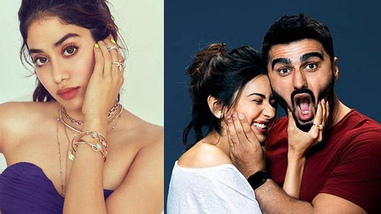 Malaika are you there? Janhvi Kapoor finds brother Arjun Kapoor, Rakul Preet 'cute'