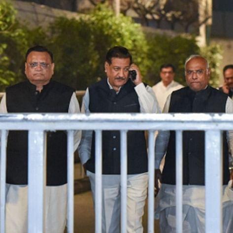 Congress indecisive on supporting Sena-led govt in Maharashtra despite marathon meetings