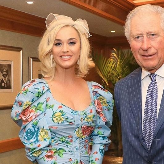 Katy Perry meets Prince Charles in Mumbai, wishes 71st birthday
