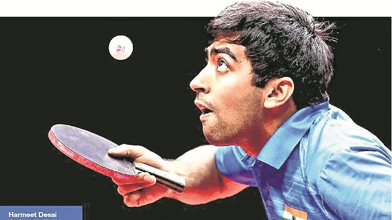 Indian paddler Harmeet Desai beats Amalraj Anthony to win Indonesia Open