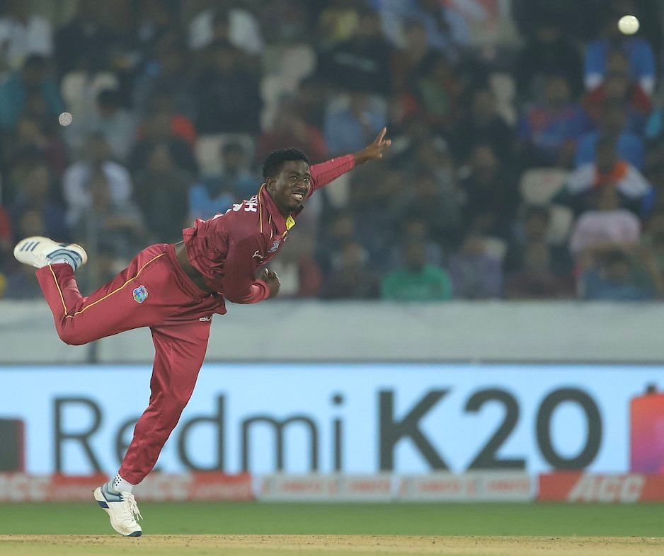 'I'm not Courtney Walsh's son,' says West Indies bowler Hayden Walsh Jr.