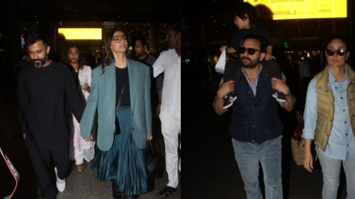 From Taimur's antics to Sonam's winter wardrobe, celebs spotted at the airport