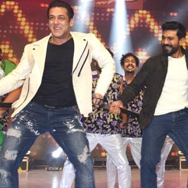 Watch: Salman Khan, Ram Charan and Venkatesh grove to 'Munna Badnaam Hua'