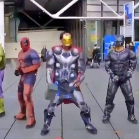 Karan Johar fans assemble: People dress up as 'Avengers' and dance to 'Disco Deewane'