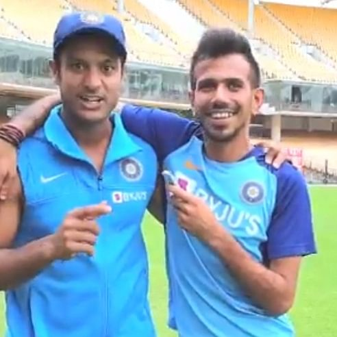 'I rather play cricket than not play cricket': Mayank Agarwal makes his debut on Chahal TV