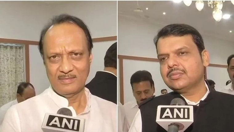 'What is wrong if ruling party, opposition unite in COVID-19 crisis?': Ajit Pawar defends Devendra Fadnavais