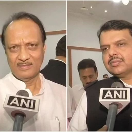 'We discussed about the weather': Ajit Pawar on public chat with Devendra Fadnavis