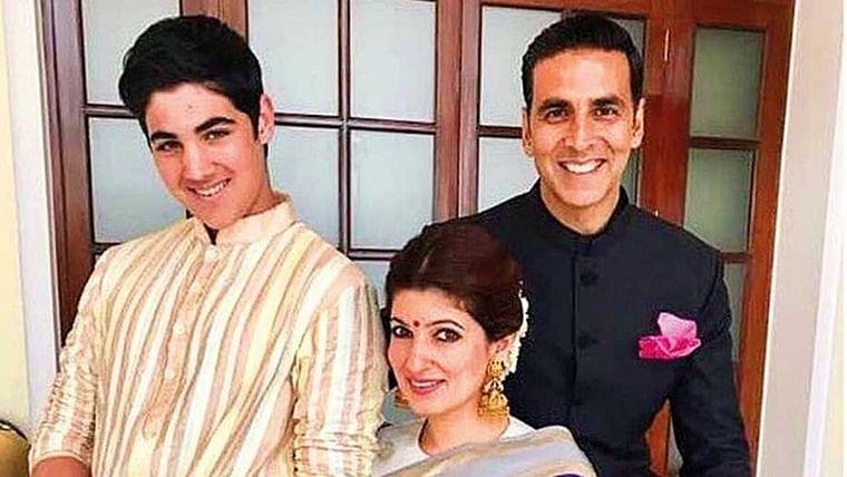 Akshay Kumar's son Aarav's reaction to 'Housefull 4' couldn't be more real
