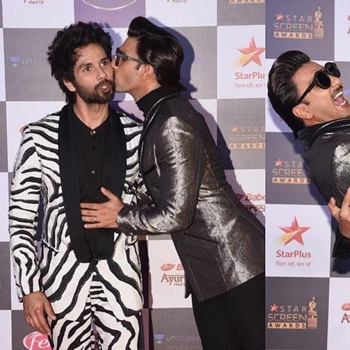 Sorry Deepika, but Ranveer's kissing booth had Shahid, Siddhanth and Sara