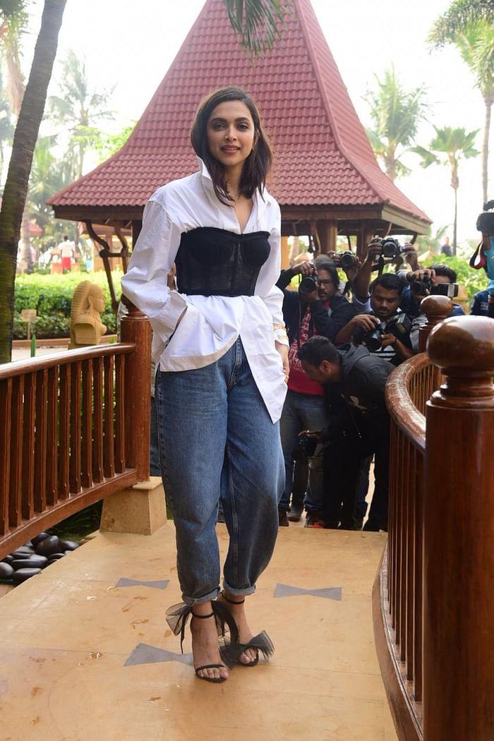 Bizarre! Deepika Padukone commits an unforgivable fashion blunder