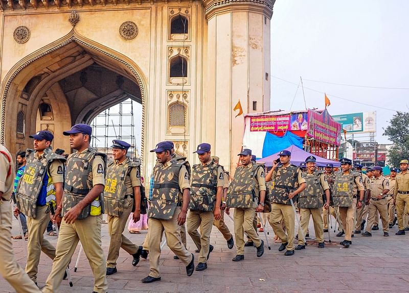Hyderabad: Security beefed up, section 144 imposed ahead of Babri demolition anniversary