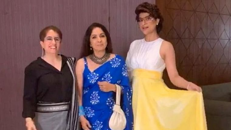 Tahira Kashyap directs Neena Gupta in short film produced by Oscar winner Guneet Monga