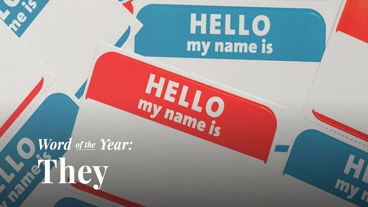 Merriam-Webster names 'They' as Word of the Year 2019