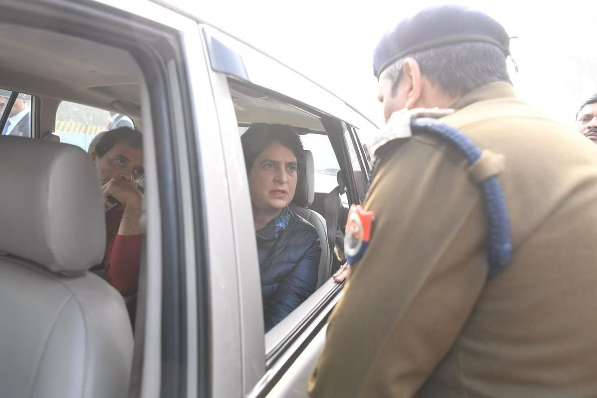 No entry in Meerut for Rahul, Priyanka Gandhi