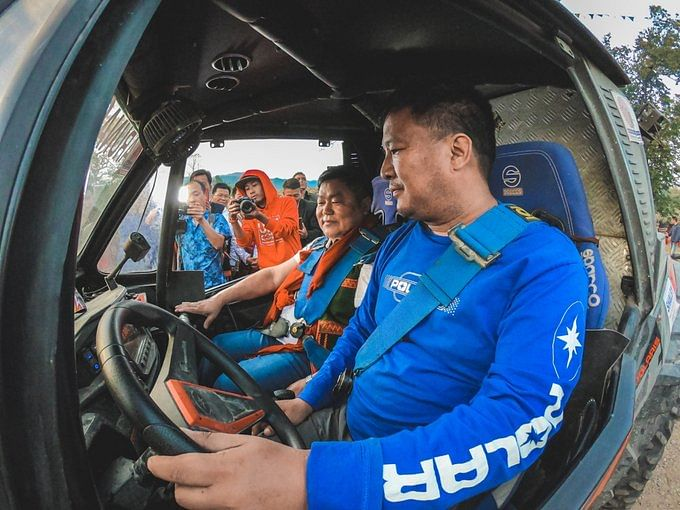 JK Tyre Orange 4X4 Fury: MOCAtake on BODA