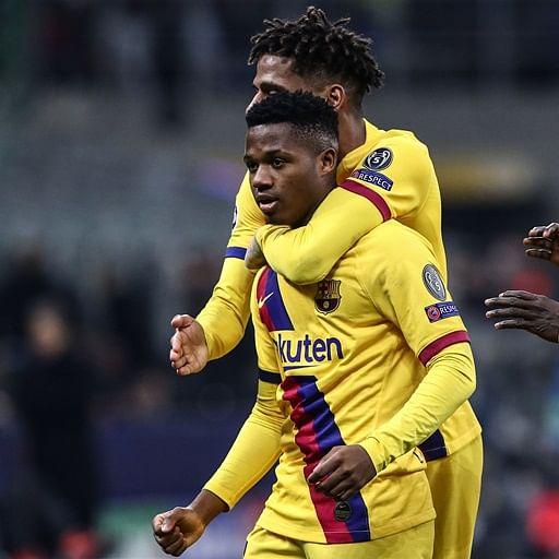 Ansu Fati makes history as Barcelona send Inter Milan crashing out of UEFA Champions League