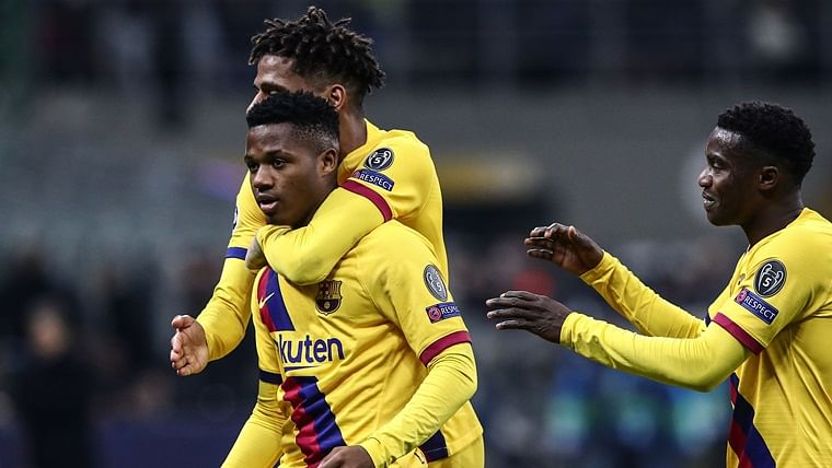 Ansu Fati makes history as Barcelona send Inter Milan crashing out of UEFA Champions League