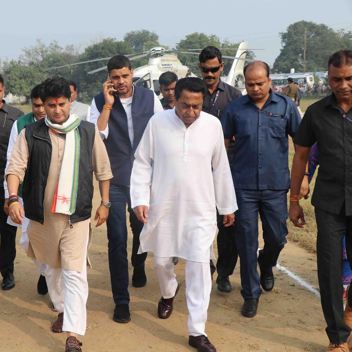 CM Kamal Nath and Jyotiraditya Scindia meeting in air disperse clouds!
