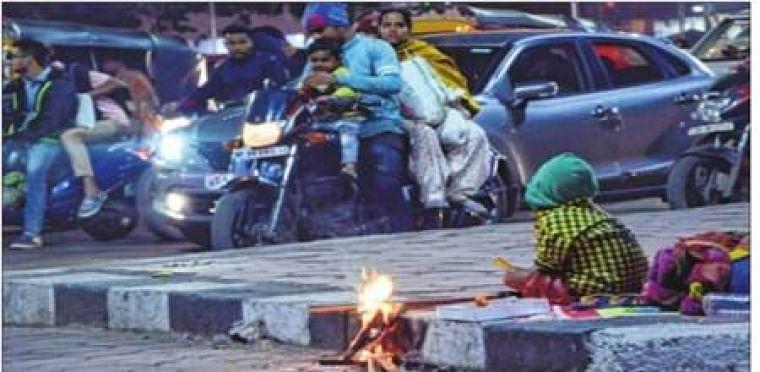 Sharp drop in temperature recorded across the Madhya Pradesh