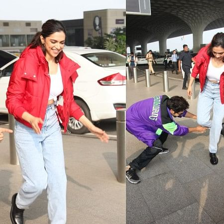 Watch: Deepika Padukone, Kartik Aaryan dancing at airport will steal your hearts 'Dheeme Dheeme'