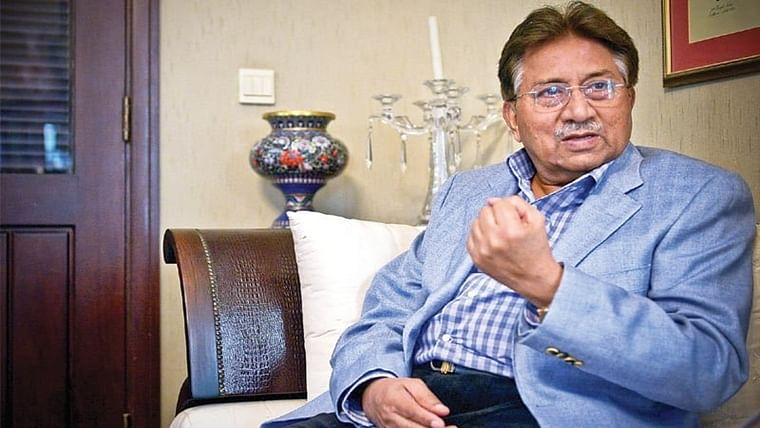 Ex-Pak President Musharraf admitted to hospital in Dubai.