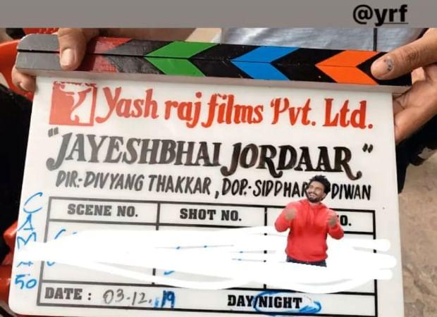 Jayeshbhai Jordaar First Look: Ranveer Singh looks 'jordaar' in Gujarati avatar